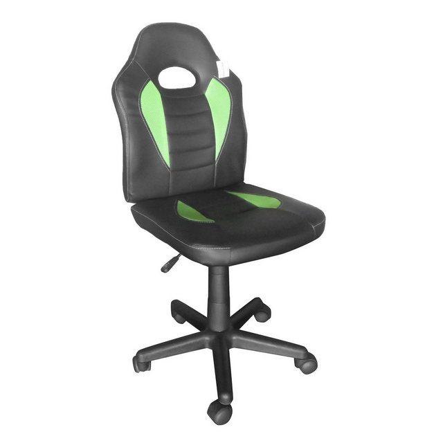 Bürostühle - HTI Line Drehstuhl Daytona »Smart Schwarz Grün« » schwarz  - Onlineshop OTTO