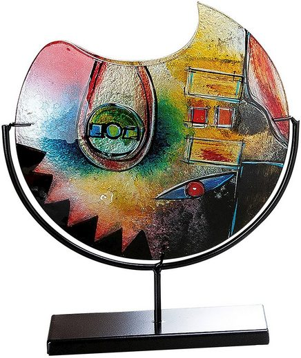 GILDE GLAS art Dekovase »Confuso« (1 Stück), aus Glas