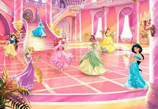 Komar Fototapete »Princess Glitzerparty«, glatt, Comic, bedruckt, (Packung), ausgezeichnet lichtbeständig