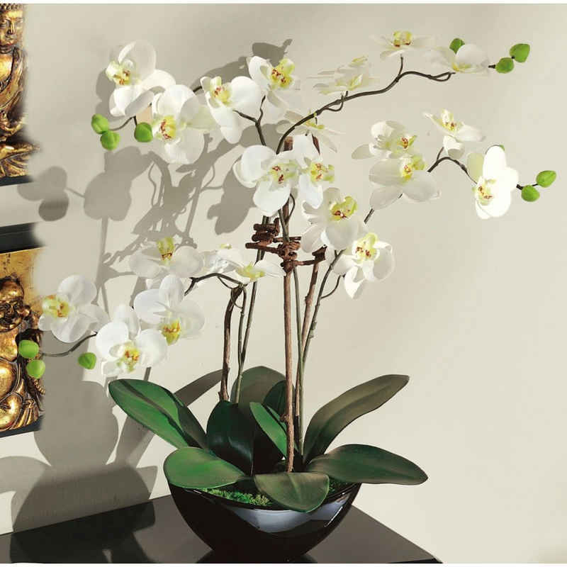 Kunstorchidee, Schneider, Höhe 70 cm