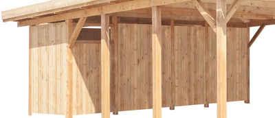 Kiehn-Holz Geräteraum, BxT: 540x173 cm, nur für Carport KH 103/105