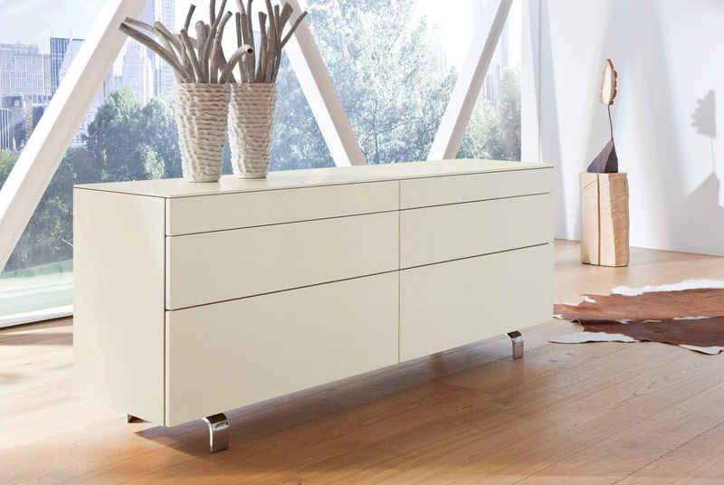 hülsta Sideboard »NEO Sideboard«, mit 6 Schubladen, Breite 211,2 cm, inklusive Liefer- und Montageservice durch hülsta Monteure