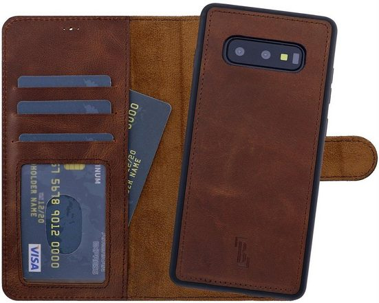 Burkley Flip Case »Samsung Galaxy S10e Detachable Wallet Handyhülle«