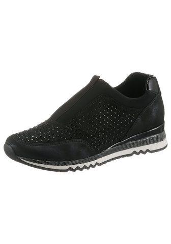 MARCO TOZZI Slip-On Sneaker su žvilgantis Steinche...