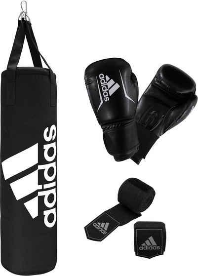 adidas Performance Boxsack »adidas Performance« (Set, mit Bandagen, mit Boxhandschuhen)
