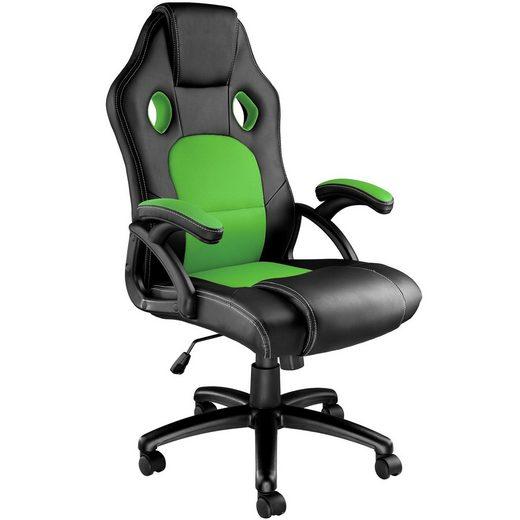 tectake Gaming-Stuhl »Bürostuhl Tyson« (1 Stück), 360° drehbar