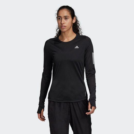 adidas Performance Laufshirt »OTR LS TEE W«