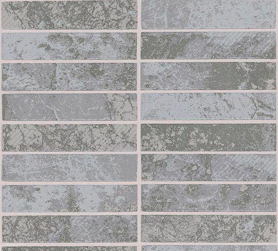 living walls Schaumtapete »Il Decoro«, strukturiert, gemustert, gestreift, (1 St), strukturiert