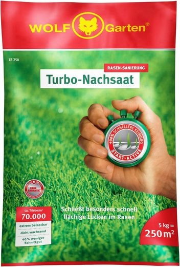 WOLF-Garten Rasensamen »Turbo«, 5 kg