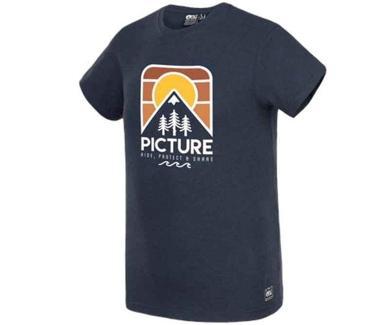 Picture T-Shirt »Picture Herren T-Shirt Lanfon Dark blue«