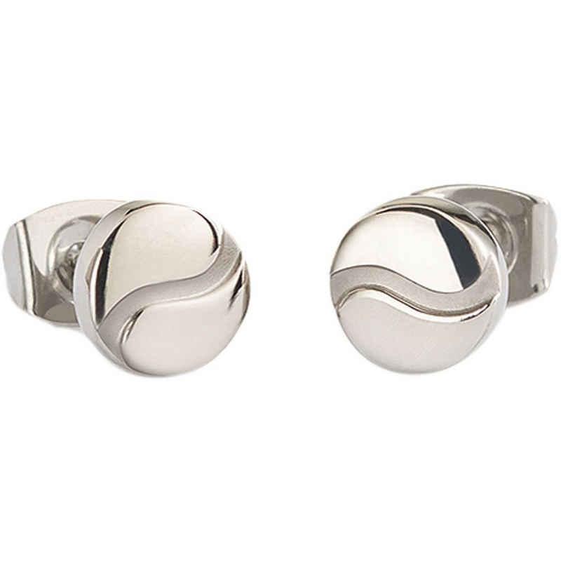 Boccia Paar Ohrstecker »Damen Ohrringe Titan poliert / matt 05028-01«