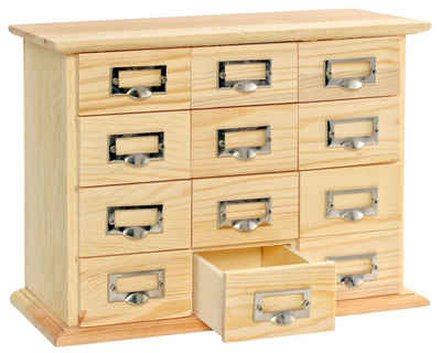 VBS Aufbewahrungsbox »Apothekerschränkchen«, 23,5 cm x 17,5 cm