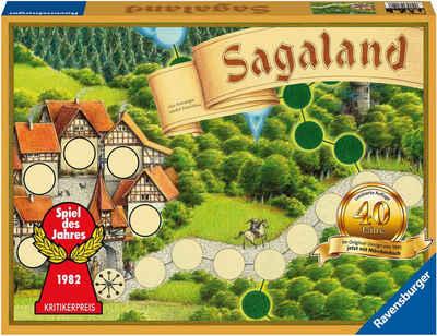 Ravensburger Spiel, Merk- und Suchspiel »Sagaland 40 Jahre Jubiläumsedition«, FSC® - schützt Wald - weltweit; Made in Europe