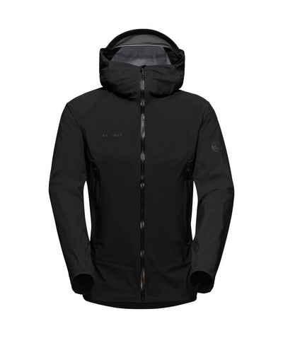 Mammut Hardshelljacke »Masao Light HS Hooded Jacket Men« wasserdicht - kleines Packvolumen
