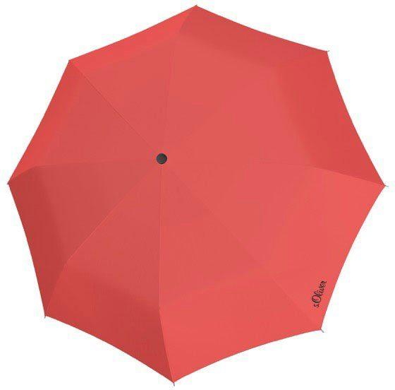 Regenschirm City gelb s.Oliver Stockschirm
