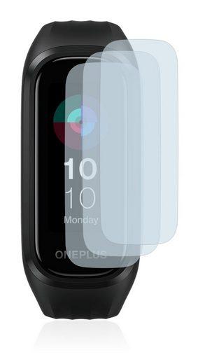 BROTECT Schutzfolie »Panzerglasfolie für OnePlus Band«, (3 Stück), Schutzglas Glasfolie matt