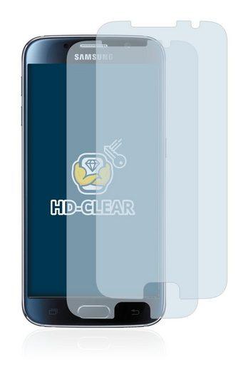 BROTECT Schutzfolie »für Samsung Galaxy S6«, (2 Stück), Folie Schutzfolie klar