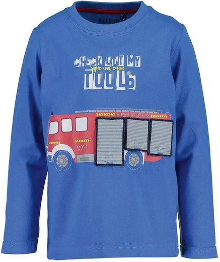 Blue Seven Langarmshirt »Langarmshirt für Jungen«