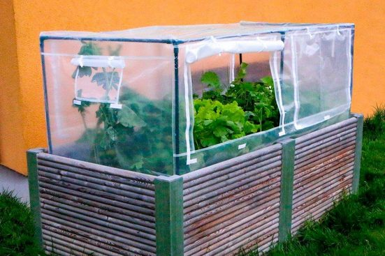 Hochbeetabdeckung »Garden Guard«, LxBxH: 185x90x95 cm, transparent