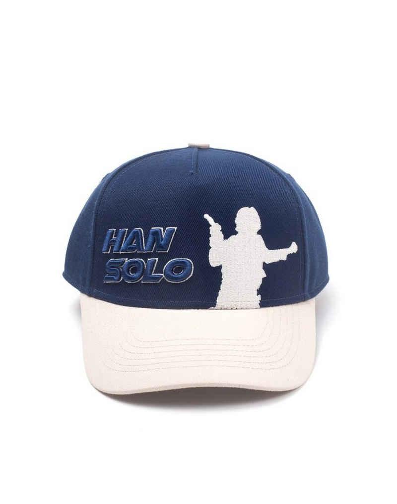 Star Wars Baseball Cap »Star Wars Han Solo Silhouette Adjustable Cap neu«