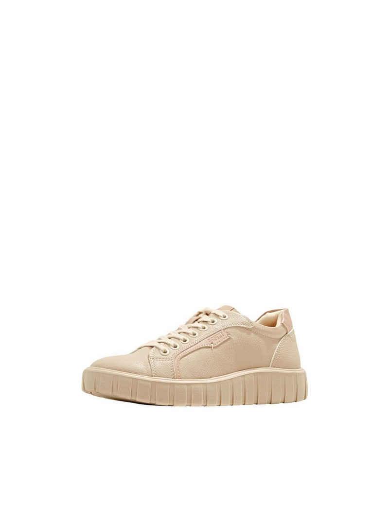 Esprit »Plateau-Sneaker in Lederoptik« Sneaker
