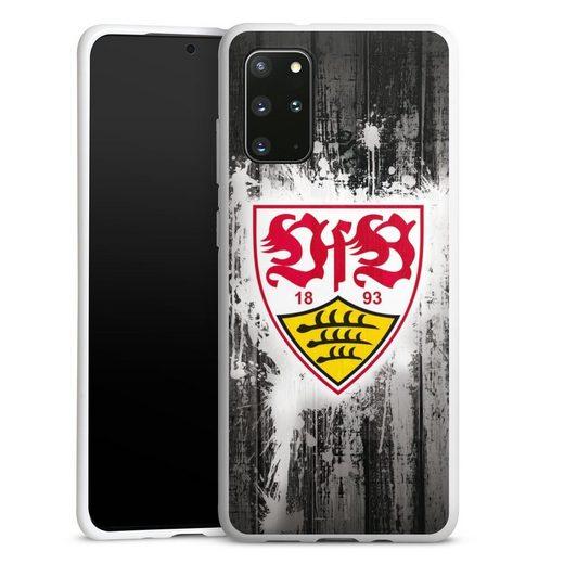 DeinDesign Handyhülle »VfB Stuttgart Splash« Samsung Galaxy S20 Plus, Hülle VfB Stuttgart Offizielles Lizenzprodukt Bundesliga