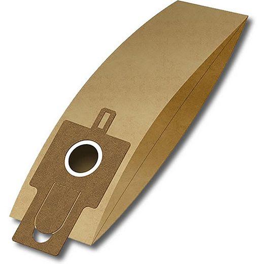 eVendix Staubsaugerbeutel Staubsaugerbeutel ähnlich Filter Clean H 124, 10 Staubbeutel + 2 Mikro-Filter + 2 Motor-Filter, passend für Filter Clean