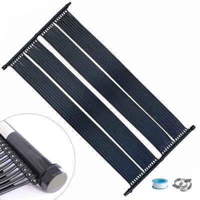 Mucola Poolheizung »2 X 605x80CM Schwimmbad Heizung Solarpanel Solarabsorber Poolheizung Solar«