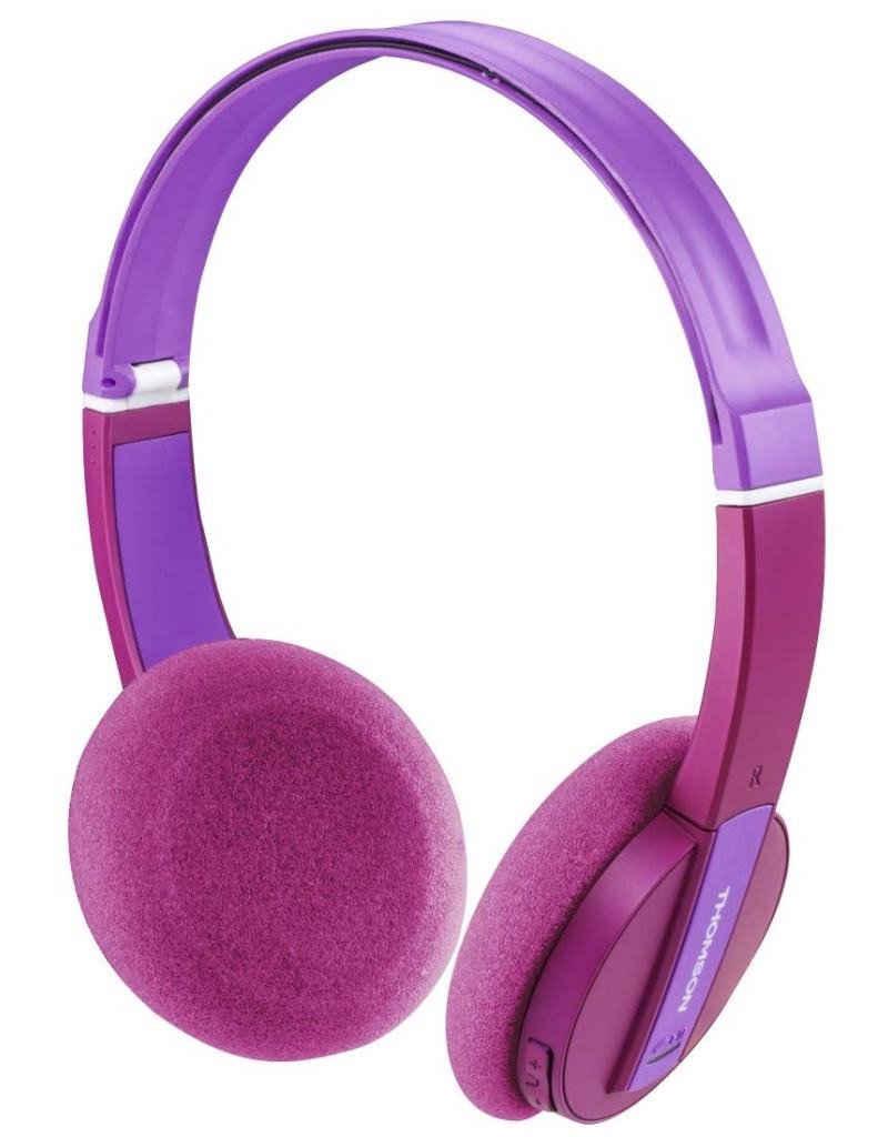 Thomson »Thomson Kinder-Kopfhörer Bluetooth Headset Wireless 85 DB Begrenzung Mikrofon Kids Headphones für Musik Lernen Hörspiel« Kinder-Kopfhörer (Bluetooth, Headset mit Mikrofon, wireless, Bluetooth + EDR)