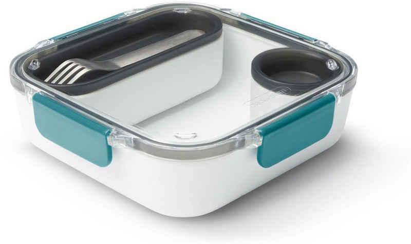 black+blum Lunchbox, Kunststoff, (1-tlg), inklusive Innenbehälter und Saucenbecher, 1000 ml