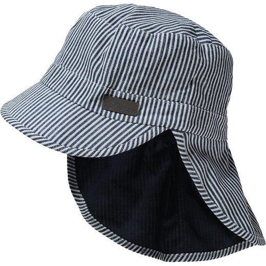 Sterntaler® Sonnenhut »Schirmmuetze mit Nackenschutz - Mützen -«