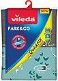 Vileda Bügelbrettbezug Park & Go QuickFIX, metallisierte Kurzzeit-Parkzone für Bügeleisen, 110x30 cm, Bild 2