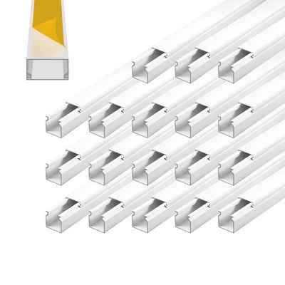ARLI Kabelkanal »Installationskanal selbstklebend für Wand- und Deckenmontag Kabel Kanal«