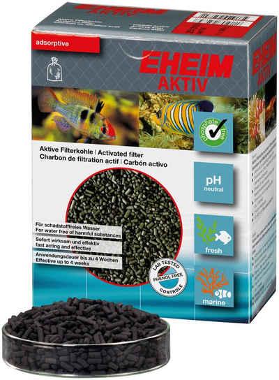 EHEIM Filtersubstrat »AKTIV«, für Aquarien Außenfilter mit Meerwasser/Süßwasser, Aktive Filterkohle im Netz