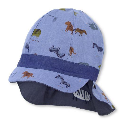 Sterntaler® Schirmmütze Wendeschirmmütze mit Nackenschutz