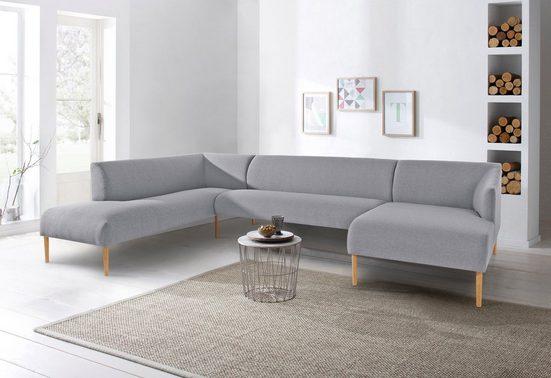 andas Wohnlandschaft »Finesse«, in skandinavischem Design mit attraktiver Formensprache