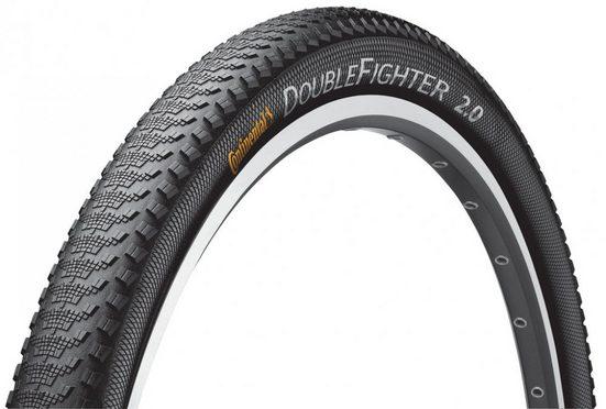 CONTINENTAL Fahrradreifen »Reifen Conti Double Fighter III 28x1 3/8x1 5/8' 37«