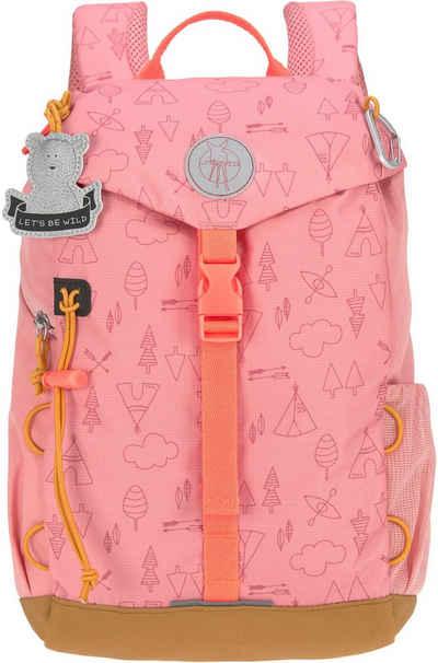 LÄSSIG Kinderrucksack »Adventure, rose, Mini Backpack«, inkl. thermoisolierter Sitzunterlage; PETA-approved vegan; aus recyceltem Material