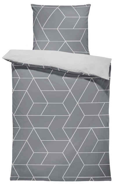 Bettwäsche »Jack«, One Home, mit grafischen und geometrischen Muster 2 Teilig