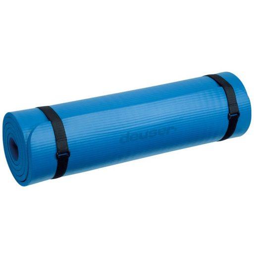 Deuser-Sports Yogamatte »Fitness Matte Fitnessmatte Isomatte Yoga Pilates«, Dämpfend und wärmeisolierend - 182 x 61 x 1,0 cm - Das Original