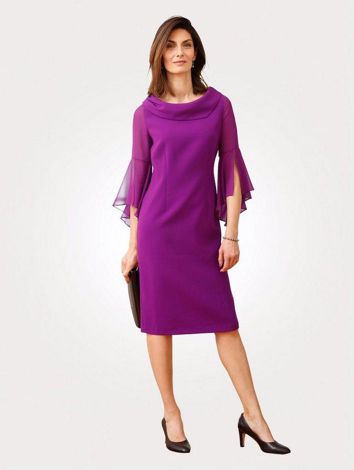 Festtagsmode - Mona Abendkleid mit Chiffoneinsatz ›  - Onlineshop OTTO