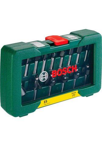 Bosch Powertools Schaftfräser rinkinys 15-tlg. HM-Fräse...