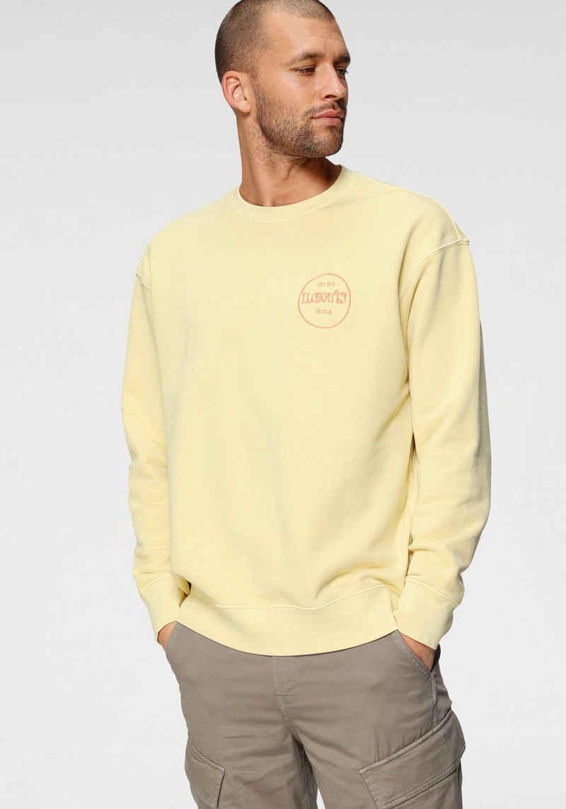Levi's® Sweatshirt »RELAXED T2 GRAPHIC CREW« mit Logofrontprint