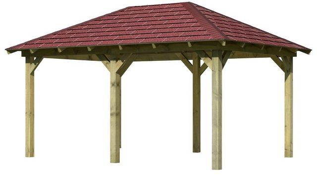 Karibu Holzpavillon Mailand 2 Set