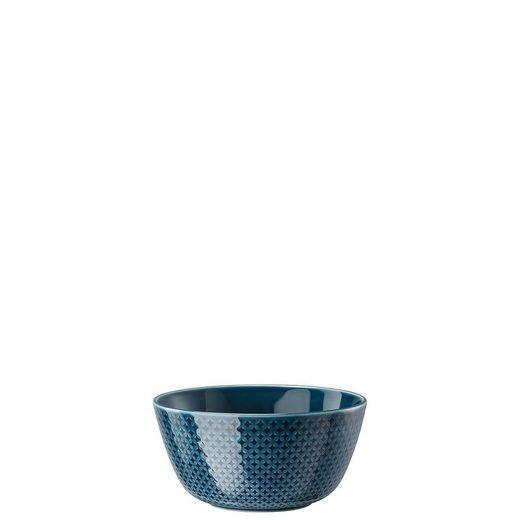 Rosenthal Müslischale »Junto Ocean Blue Müslischale 15 cm«, Porzellan, (1-tlg)