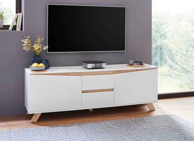 20% sparen TV Lowboard CROSS von HOME AFFAIRE ab 399,99