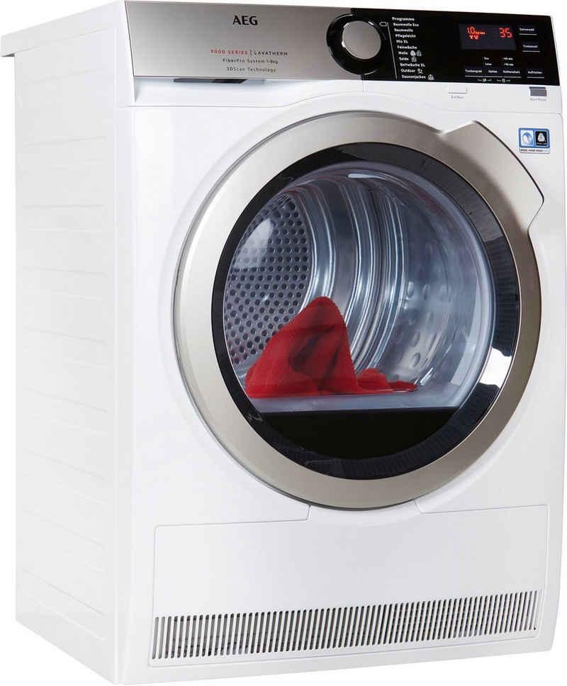 AEG Wärmepumpentrockner T9DE79685, 8 kg, 3D Scan - Trocknet nachhaltiger
