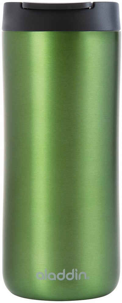 aladdin Coffee-to-go-Becher »Leak-Lock Thermavac™«, Edelstahl, Kunststoff, mit Vakuumisolierung - 2,5 Stunden heiß & 4,5 Stunden kalt, auslaufsicher, 350 ml