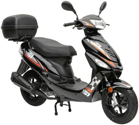 Nova Motors Mofaroller »Energy«, 49 ccm, 25 km/h, inkl. Topcase