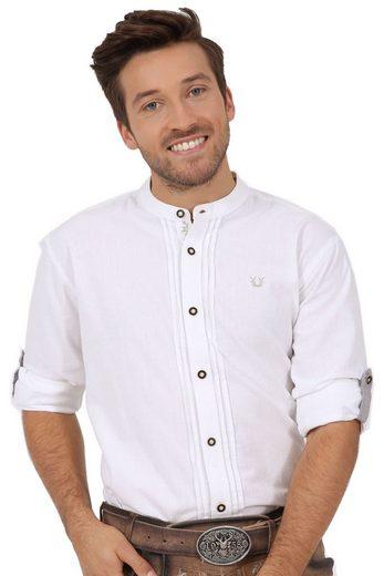 KRÜGER BUAM Trachtenhemd »Trachtenhemd Jonas 98138-1« Kent Kragen